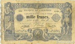 1000 Francs type 1875 ALGÉRIE  1924 P.076b B