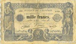 1000 Francs ALGÉRIE  1924 P.076b B