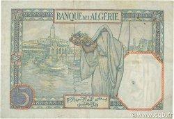 5 Francs type 1924 ALGÉRIE  1939 P.077a pr.TTB