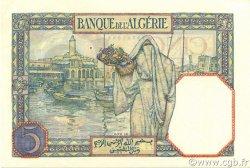 5 Francs type 1924 ALGÉRIE  1940 P.077a pr.NEUF