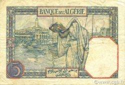 5 Francs type 1924 ALGÉRIE  1941 P.077a TTB
