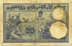 20 Francs type 1912 ALGÉRIE  1915 P.078a TB