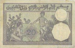 20 Francs type 1912 ALGÉRIE  1924 P.078b TB+