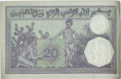 20 Francs type 1912 ALGÉRIE  1938 P.078c SUP+