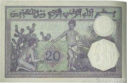 20 Francs type 1912 ALGÉRIE  1939 P.078c pr.SPL