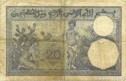 20 Francs type 1912 ALGÉRIE  1941 P.078c TB