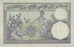 20 Francs type 1912 ALGÉRIE  1941 P.078c TTB+