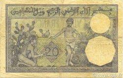 20 Francs type 1912 ALGÉRIE  1941 P.078c pr.TB