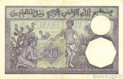 20 Francs ALGÉRIE  1942 P.078c SUP à SPL