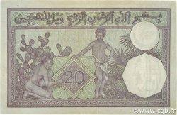 20 Francs type 1912 ALGÉRIE  1942 P.078c TTB