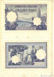 50 Francs ALGÉRIE  1912 P.079s SPL