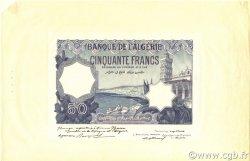 50 Francs ALGÉRIE  1912 P.079s NEUF