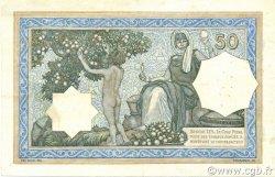 50 Francs type 1912 vert ALGÉRIE  1932 P.080a TTB