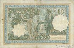 50 Francs type 1912 vert ALGÉRIE  1933 P.080a TTB