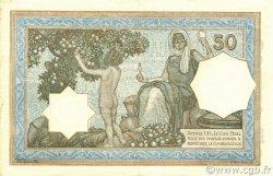 50 Francs type 1912 vert ALGÉRIE  1936 P.080a SUP