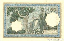 50 Francs type 1912 vert ALGÉRIE  1928 P.080s SPL