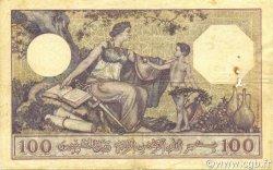 100 Francs ALGÉRIE  1924 P.081a TB