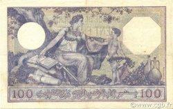 100 Francs type 1920 ALGÉRIE  1933 P.081b TTB