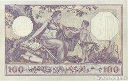 100 Francs type 1920 ALGÉRIE  1936 P.081b TTB+