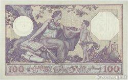 100 Francs type 1920 ALGÉRIE  1938 P.081b TTB à SUP