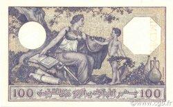 100 Francs ALGÉRIE  1936 P.081s SPL