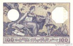 100 Francs type 1920 ALGÉRIE  1936 P.081s pr.NEUF