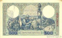 500 Francs type 1926 ALGÉRIE  1926 P.082s SPL