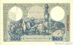 500 Francs type 1926 ALGÉRIE  1926 P.082s pr.NEUF