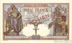 1000 Francs ALGÉRIE  1926 P.083s SPL