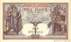 1000 Francs type 1926 ALGÉRIE  1926 P.083s SPL