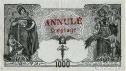 1000 Francs type 1926 ALGÉRIE  1926 P.083s SUP
