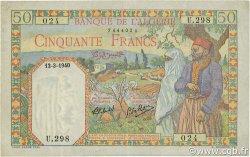 50 Francs ALGÉRIE  1940 P.084 TTB+