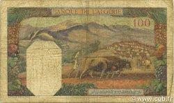 100 Francs type 1938 filigrane tête ALGÉRIE  1939 P.085a B+