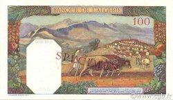 100 Francs ALGÉRIE  1938 P.085s pr.NEUF