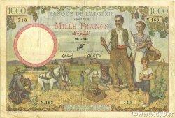 1000 Francs ALGÉRIE  1941 P.086 TB+