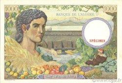 1000 Francs ALGÉRIE  1940 P.086s pr.NEUF