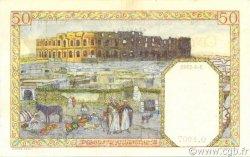 50 Francs type 1938 filigrane lettres ALGÉRIE  1945 P.087 SPL