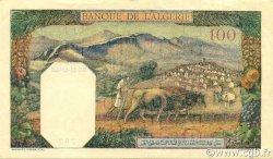100 Francs type 1938 filigrane lettres ALGÉRIE  1942 P.088 SUP