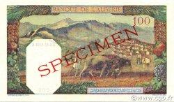 100 Francs type 1938 filigrane lettres ALGÉRIE  1941 P.088s pr.NEUF