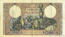 5000 Francs type 1942 ALGÉRIE  1942 P.090a TTB+