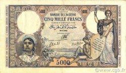 5000 Francs type 1942 ALGÉRIE  1942 P.090a TTB