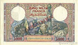 5000 Francs type 1942 ALGÉRIE  1942 P.090as SPL+