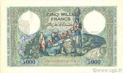 5000 Francs type 1942 ALGÉRIE  1942 P.090s pr.NEUF