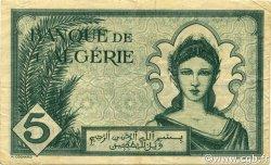 5 Francs type 1942 ALGÉRIE  1942 P.091 TTB