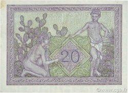 20 Francs ALGÉRIE  1942 P.092a SUP+