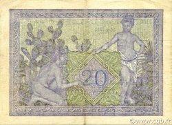 20 Francs type 1943 ALGÉRIE  1943 P.092a SUP