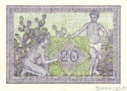 20 Francs type 1943 ALGÉRIE  1943 P.092a SPL
