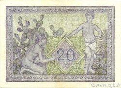 20 Francs ALGÉRIE  1943 P.092a SPL
