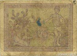20 Francs type 1943 ALGÉRIE  1944 P.092a B