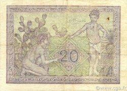 20 Francs ALGÉRIE  1944 P.092b TTB